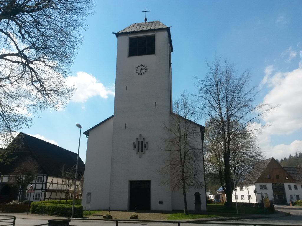 Konsekration der jetzigen Pfarrkirche