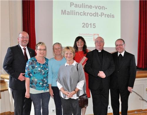 Verleihung des Pauline-von-Malinckrodt-Preises an die Caritaskonferenz Ovenhausen