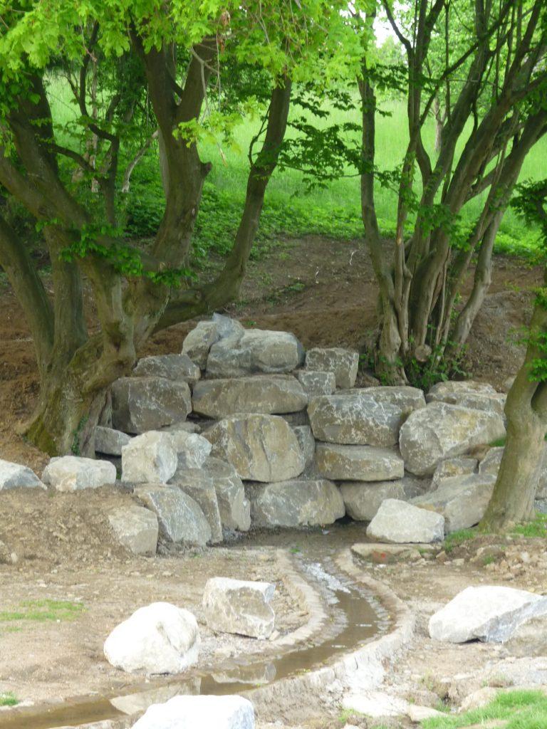 Umgestaltung des Bereiches am Kükenbrunnen