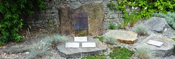 Einweihung des Gedenksteines für die Jüdischen Mitbürger